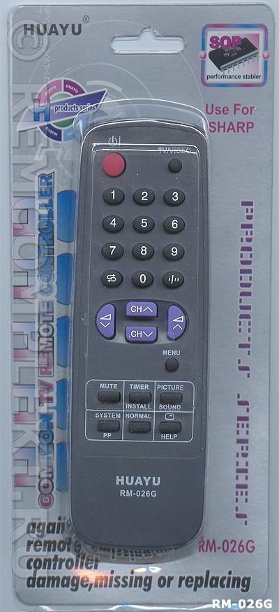 Д/У Sharp RM-026G (universal)
