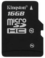 Карта памяти microSDHC 16GB class 10 Kingston